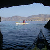 Looking back toward Kalimnos Island.