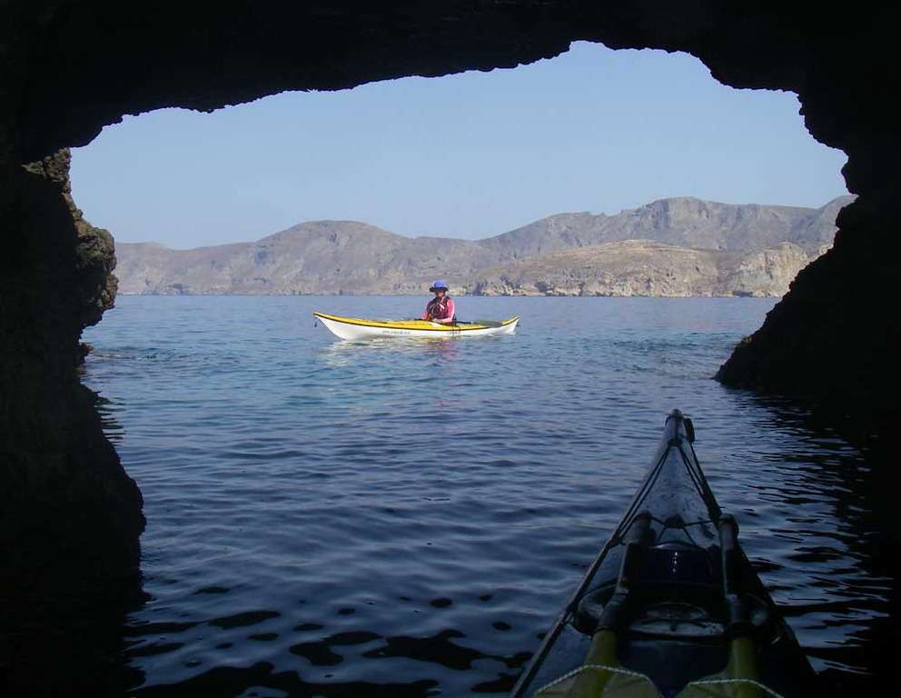 Looking back toward Kalimnos Island.