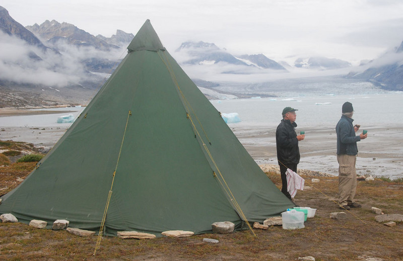 Here is our cook tent at the Kerale camp.  It was very cosy on cold evenings and mornings.