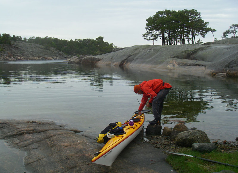 Even though the crossings were often rough water, it was easy to find a sheltered cove for camp each night.