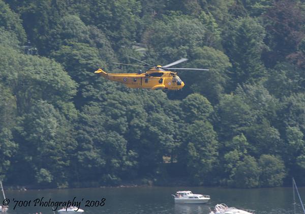 ZA105/'Q' Sea King HAR.3 - 27th July 2008.