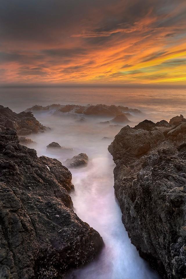 Evening Tide, Sea Ranch, California