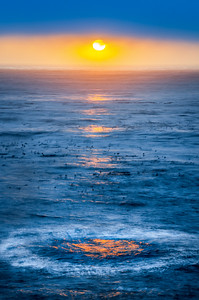 Setting Sun, Sea Ranch, California