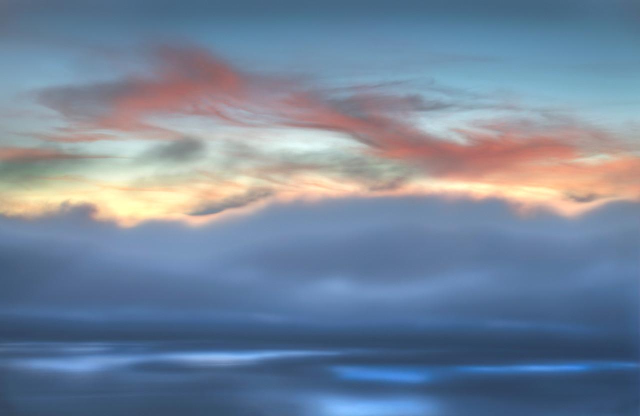 Billowing Fog, Sea Ranch, California