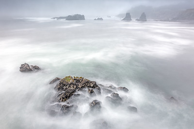 Foggy Sea, Sea Ranch, California