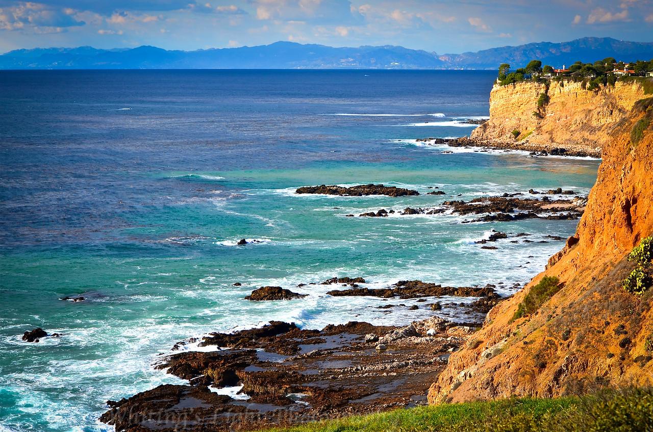 Palos Verdes coastline