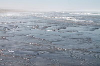 Mendocino Beach Walk