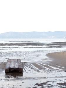 Low Tide at Alameda Beach