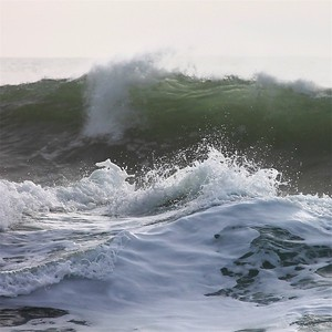 Northern California Wave Crash