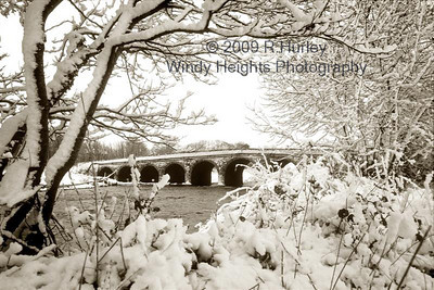 Ballineen Bridge Snow 18x12 (Medium)
