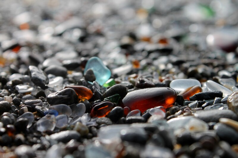 Ft Bragg Sea Glass Beach Series 6