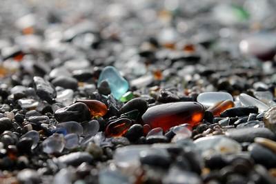 Ft Bragg Sea Glass Beach Series 6