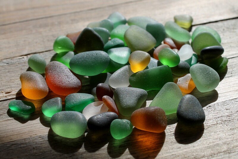 Autumn Sea Glass