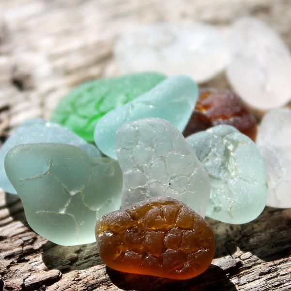 Crackle Sea Glass