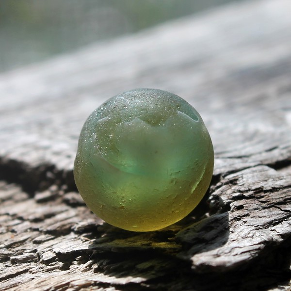 Haleiwa Sea Glass Marble