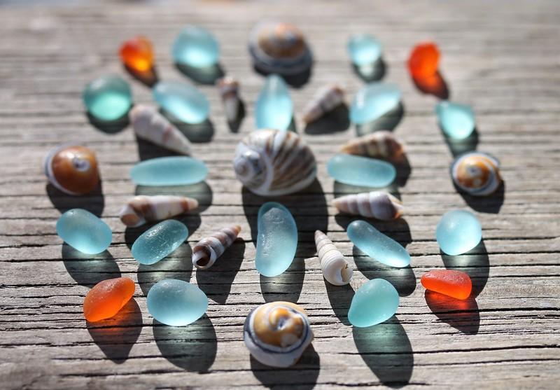Sea Glass Mandala - Series 2