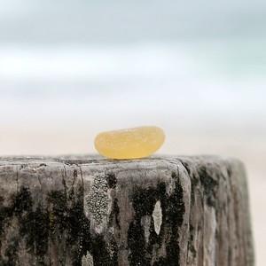 Monterey Bay Yellow Sea Glass