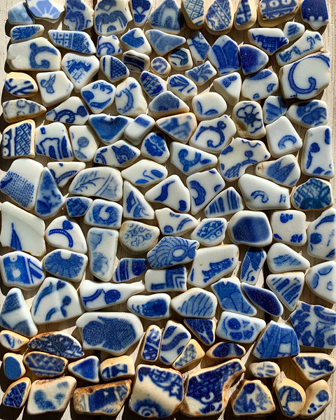 Enduring Sea Pottery Beach Finds