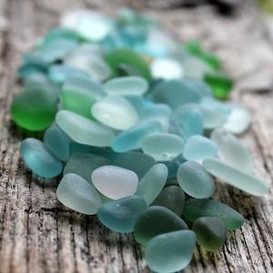 Sea Glass Jumble Blues