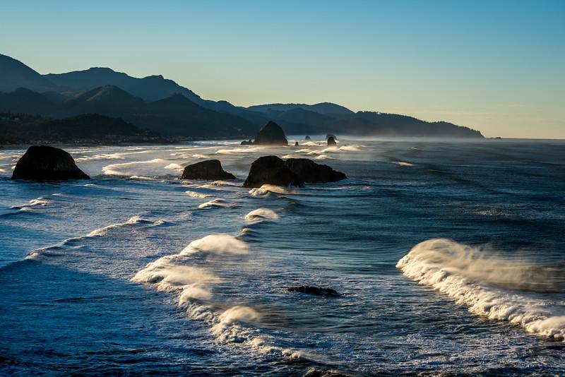 Cannon Beach Morning Rays