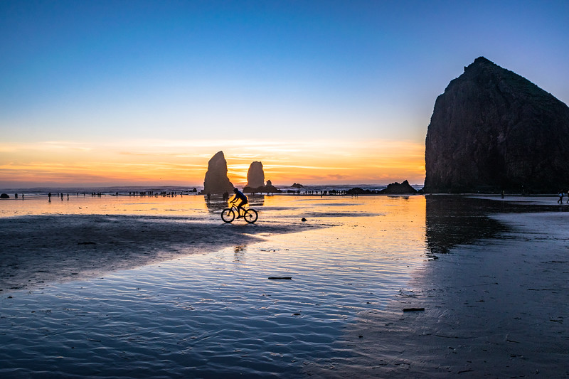 Cannon Beach and Sunset