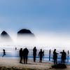 Beach Silhouettes