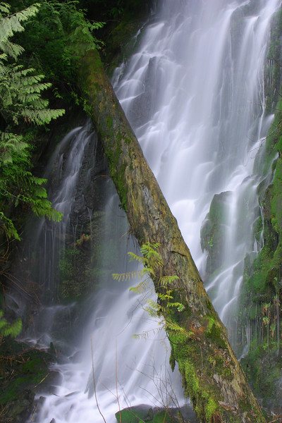 One of many waterfalls along Squamish Valley Road. Amazing that such a wonder is only a 20 minute drive from our house.