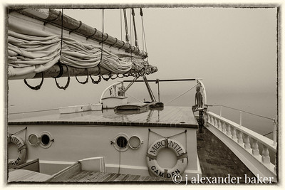 Mercantile, Fog Bound in Penobscot Bay