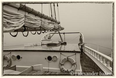 Mercantile, Fog Bound in Penobscot Bay