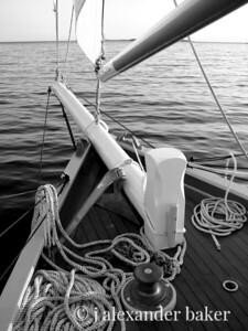 Bowsprit, Schooner Eastwind
