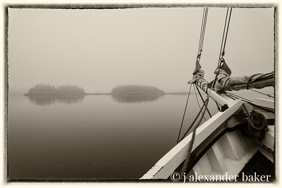 Fog Bound in Penobscot Bay