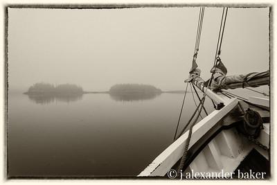 Fog Bound in Penobscot Bay