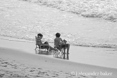 Kids at the beach.