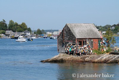 Fishing shack, Bailey's Island, ME