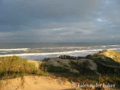 Weather moving in - Outer Banks, NC
