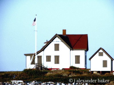 Lighthouse Keeper's House Ram Island Light, Boothbay Harbor, ME