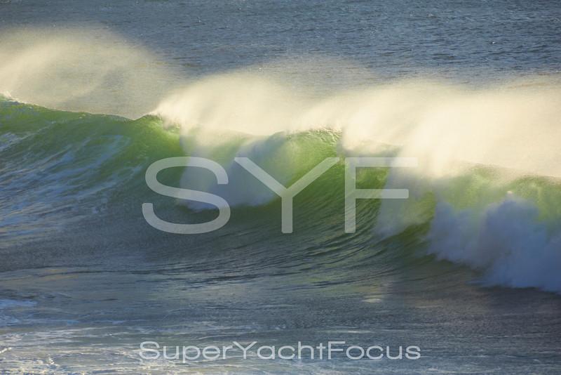 Surfing waves