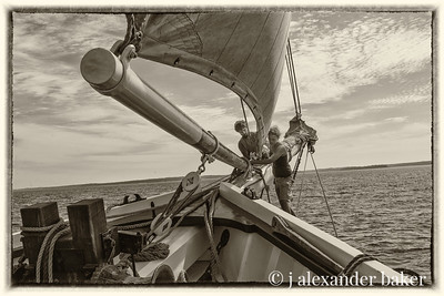 furling the headsails