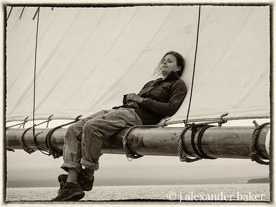 crew's deck chair