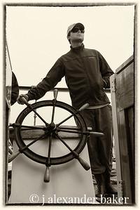 Captain's got the helm