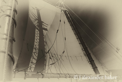 Shadow on the mainsail
