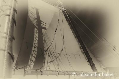 Shadow on the mainsail