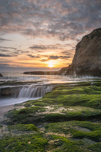 Laguna Creek Beach Sunset