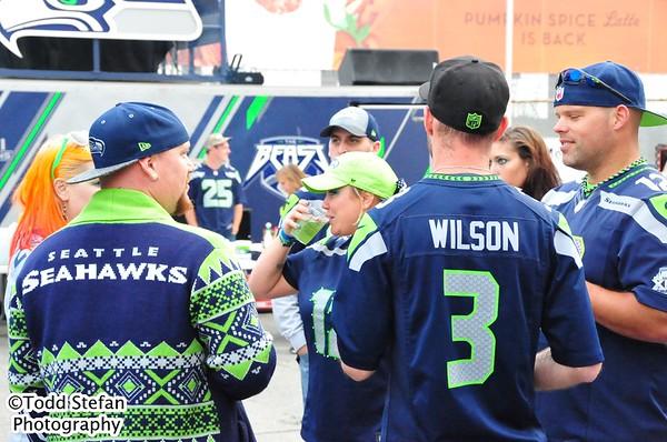 09-25-2016 Tailgating - Seahawks vs 49ers