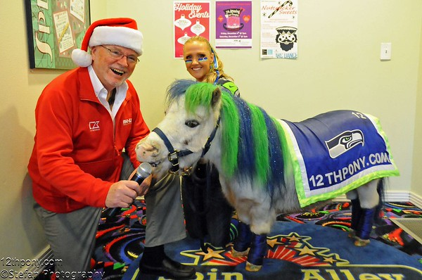 12-05-2015 Charity Event with Wilson the 12th Pony