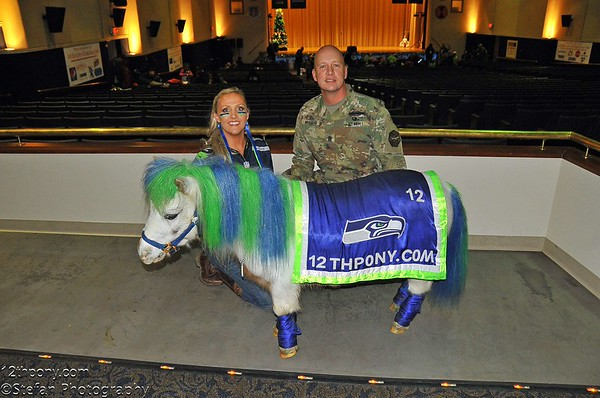12-12-15 Annual Christmas Show at Carey Theater with Wilson the 12th Pony