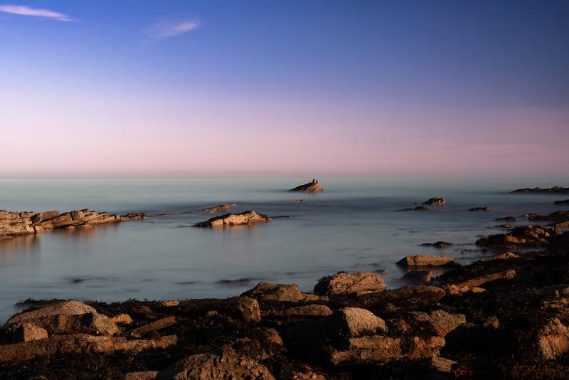 Coastline of St Andrews, fife, scotland.