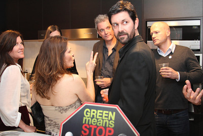 """Guests mingle. Go Green Expo Presents """"A Toast to Captain Paul Watson"""" held at the GREEN+VINE at the Residences at W Hollywood in West Hollywood, CA on April 14, 2011. Event hosted by Nicole Landers and Bradford Rand.  Photos by Erin Suggett for Sea Shepherd. © Erin Suggett Photography 2011. All Rights Reserved."""