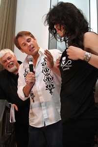 "Charity auction with announcer Ken Rutkowski and actress Michelle Rodriguez and Captain Paul Watson.  Sea Shepherd launch party for the ""Operation No Compromise"" Antarctic Whale Defense Campaign and the Gojira Interceptor Vessel unveiling in Los Angeles, CA. on October 23, 2010"