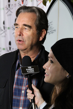 "Actor Beau Bridges is interviewed on the red carpet.  Sea Shepherd launch party for the ""Operation No Compromise"" Antarctic Whale Defense Campaign and the Gojira Interceptor Vessel unveiling in Los Angeles, CA. on October 23, 2010"